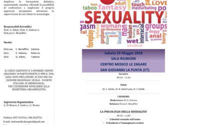 """Sabato 19 Maggio – Convegno """"Il dialogo Sessuologico"""""""